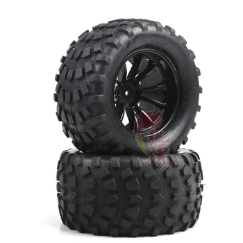 GWOLVES 4gab RC Riepu Loka Riteņa 1/10 Hex Rumbas 12mm Mēroga Modeļi RC Auto HSP Off Road Monster Truck 94111 94108 94188