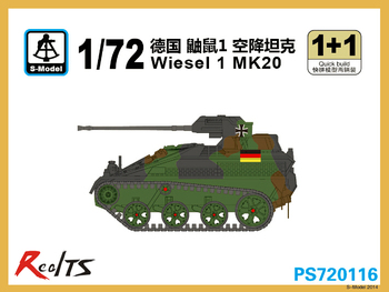 RealTS S-model PS720116 1/72 Wiesel 1 MK20