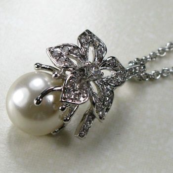 WHITE PEARL 925 STERLING SUDRABA KULONS TP130